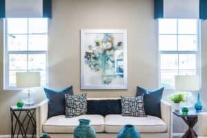 Limpeza e impermeabilização em sofá na sala